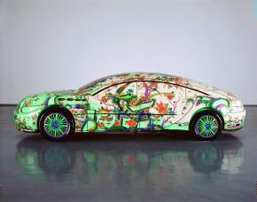 Porcelain Painted Cars by Chinese Artist Ma Jun