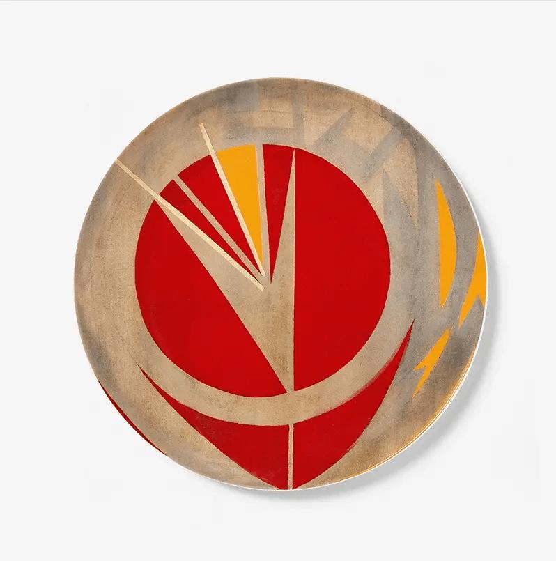Lee Krasner plate