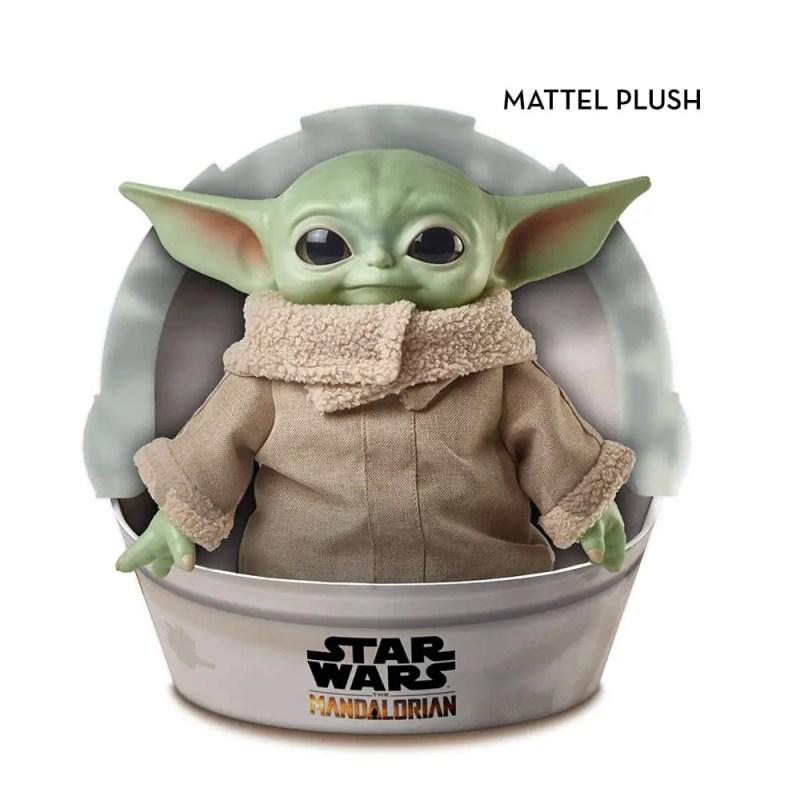 MATTEL PLUSH BABY YODA