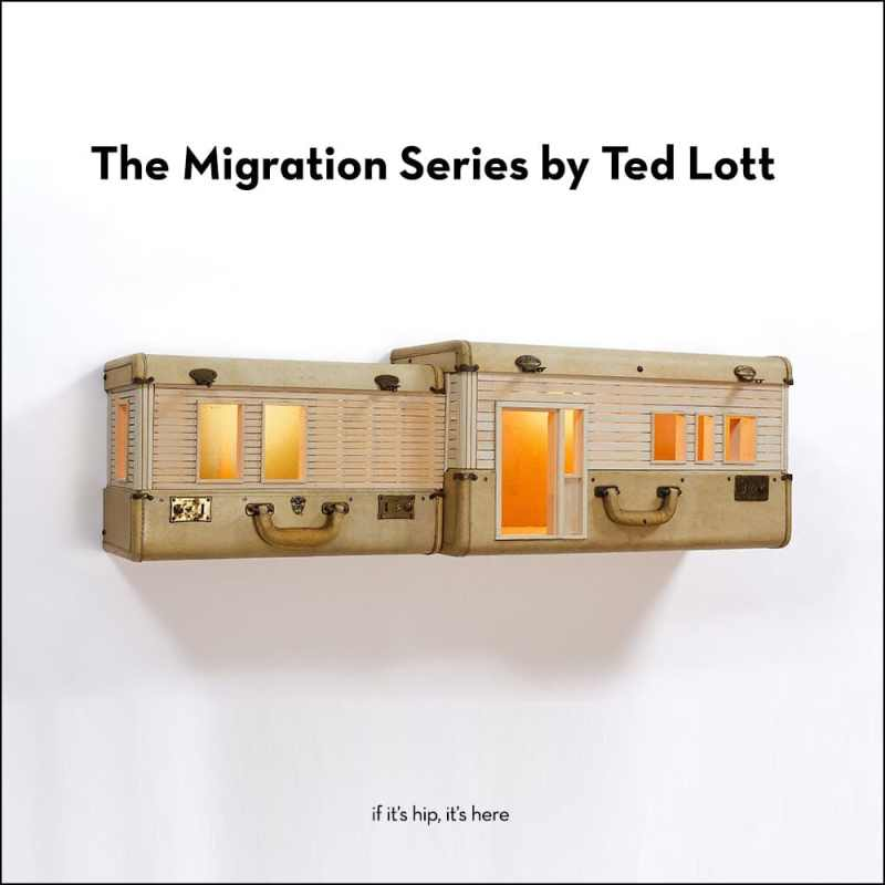 The migration series by Ted Lott