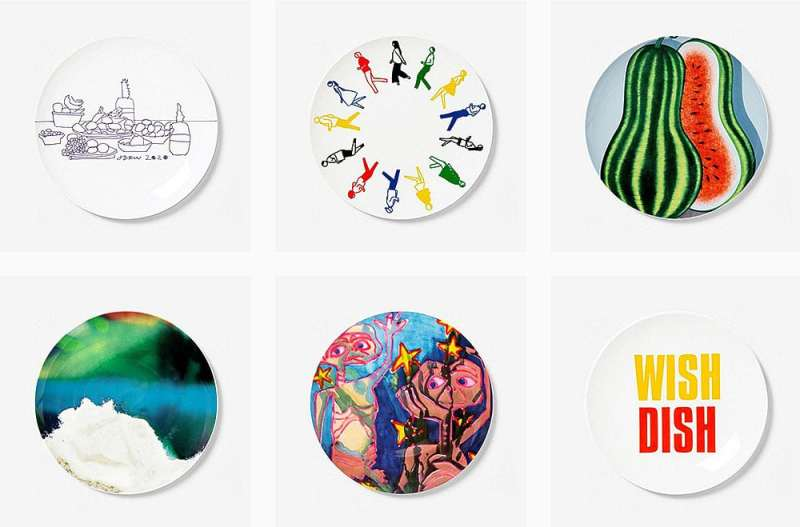 artist plates for new york homeless