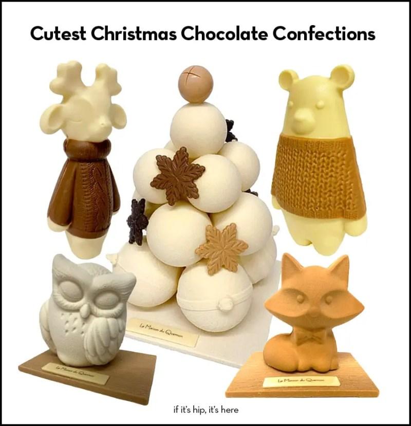 artisan christmas chocolates