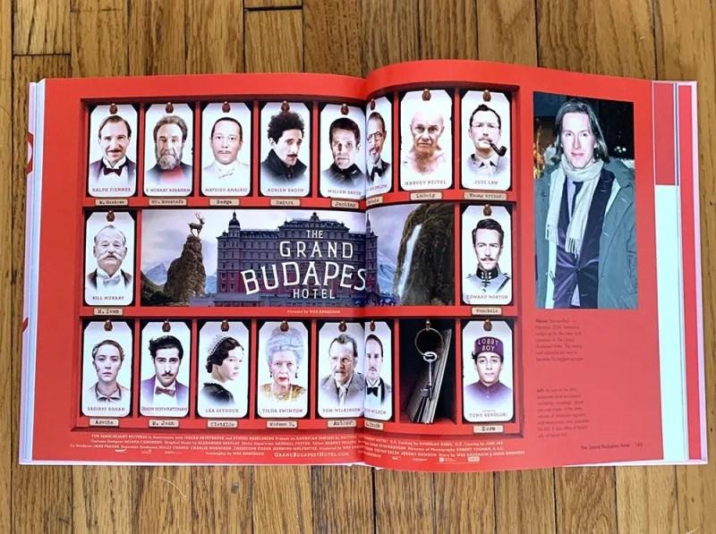 grand budapest hotel cards spread
