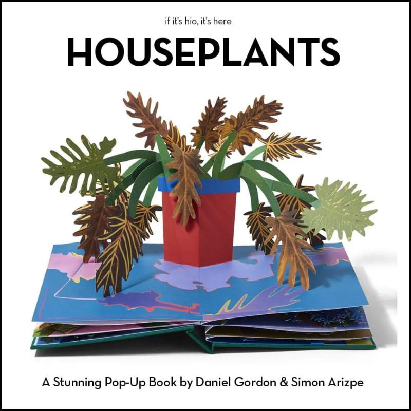 houseplants pop-up book