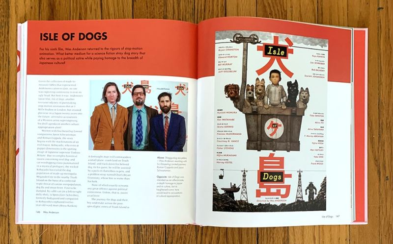 wes anderson isle of dogs spread