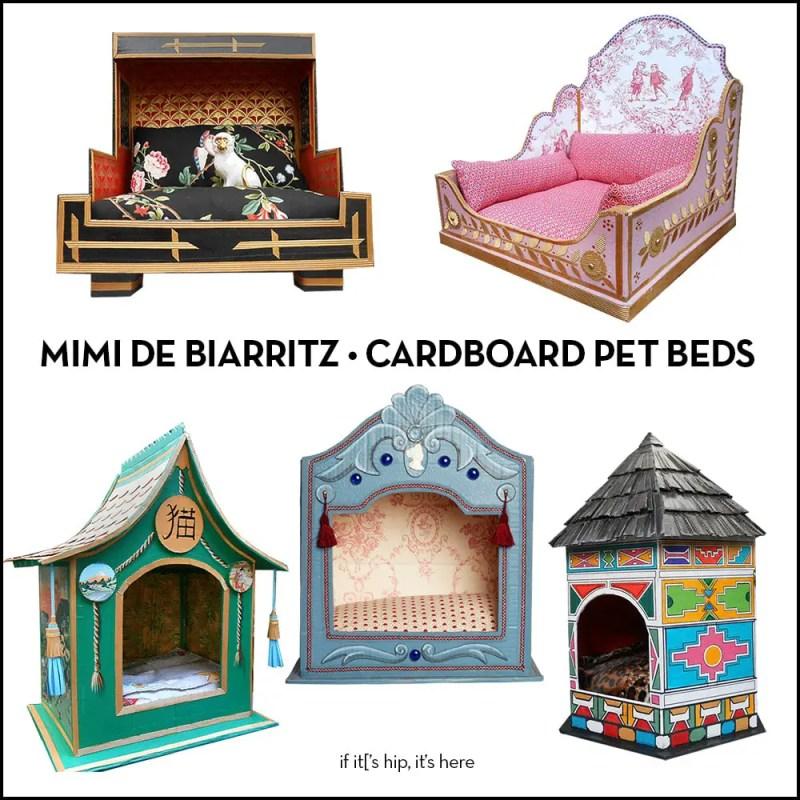 Mimi de Biarritz Cardboard Pet Beds