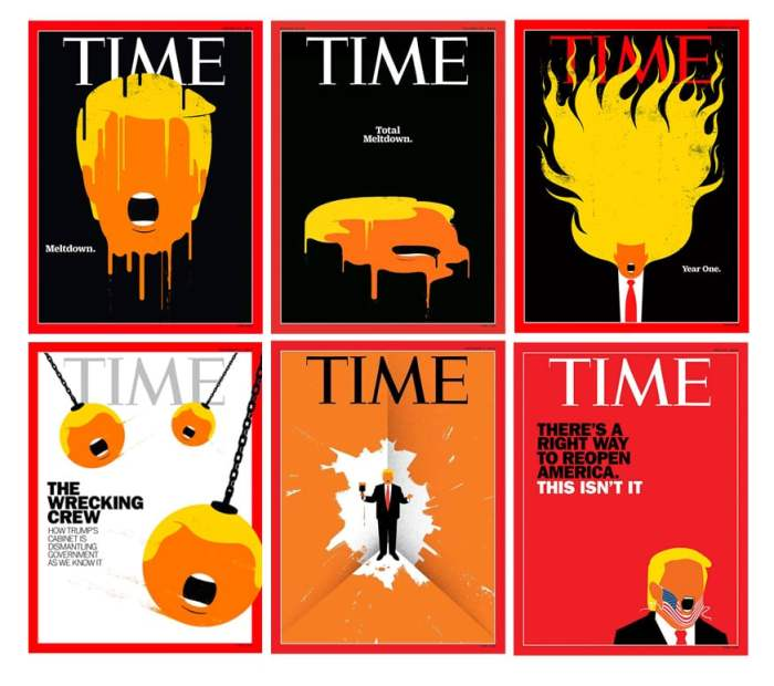 Edel Rodriguez TIME magazine covers