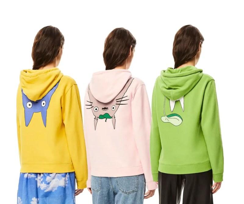 loewe totoro hoodies IIHIH