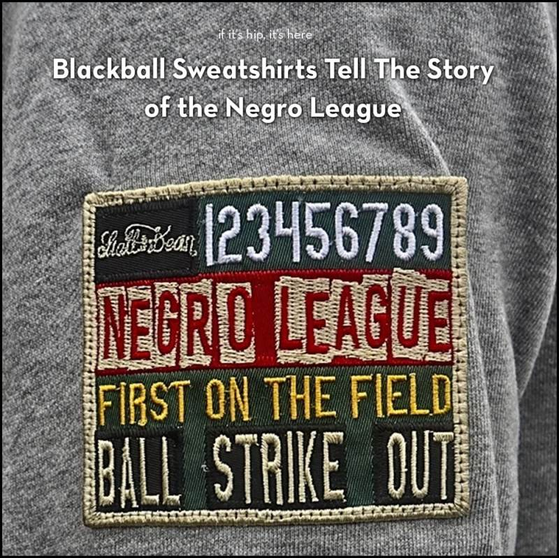 stall and dean negro league blackball sweatshirts