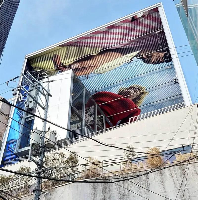 street view of alex prager installation