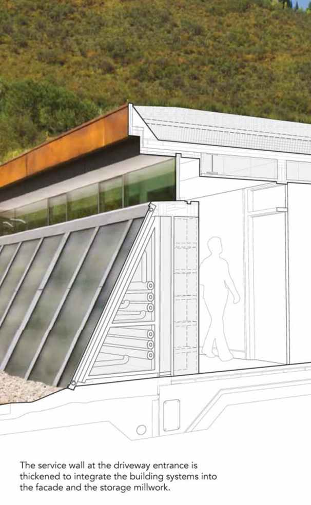 solar powered rocky mountains residence