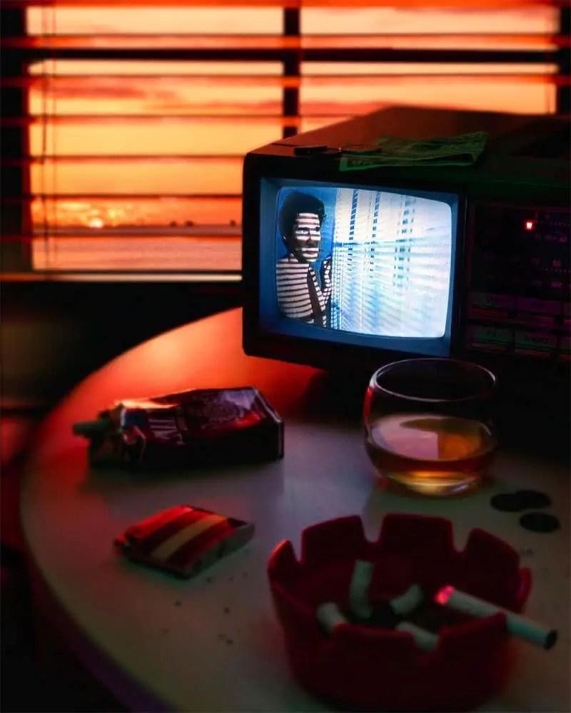 slex hyner photo tv in the dark