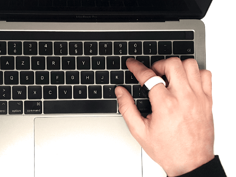 computer unlocking smart ring