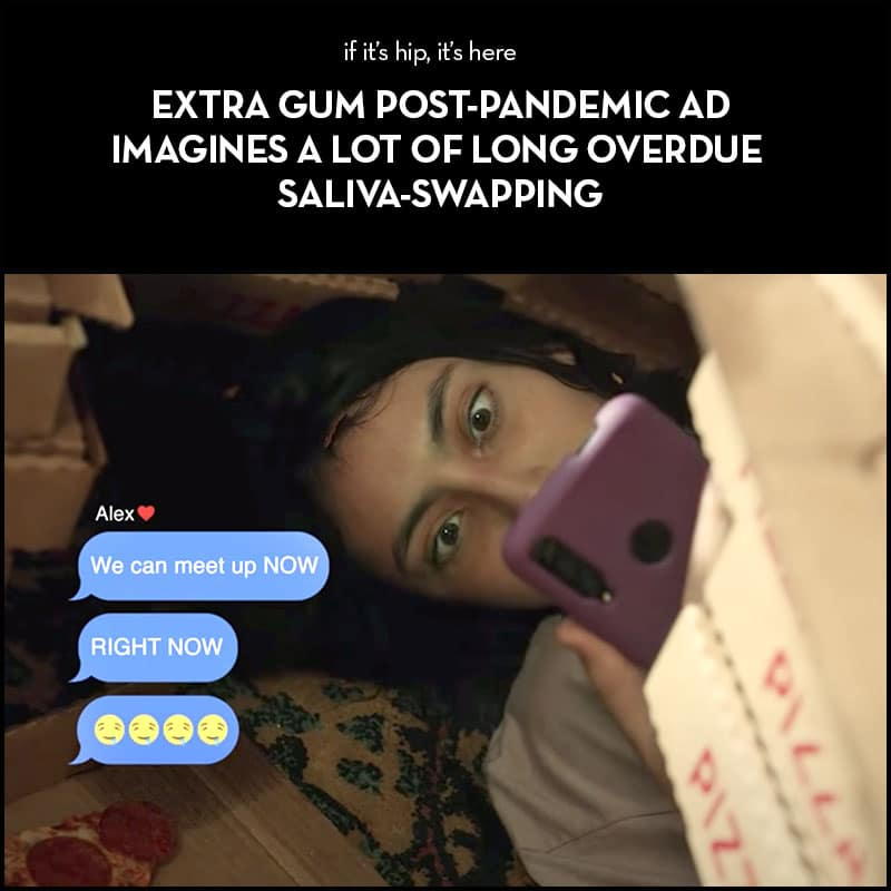 EXTRA GUM post pandemic ad