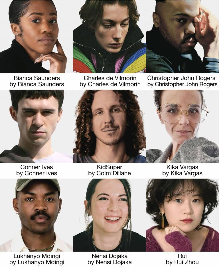LVMH prize finalists