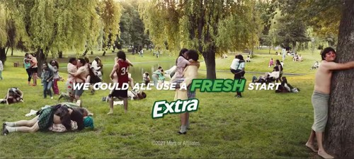 """Read more about the article EXTRA Gum Launches 2.5 minute ad """"For When It's Time"""""""