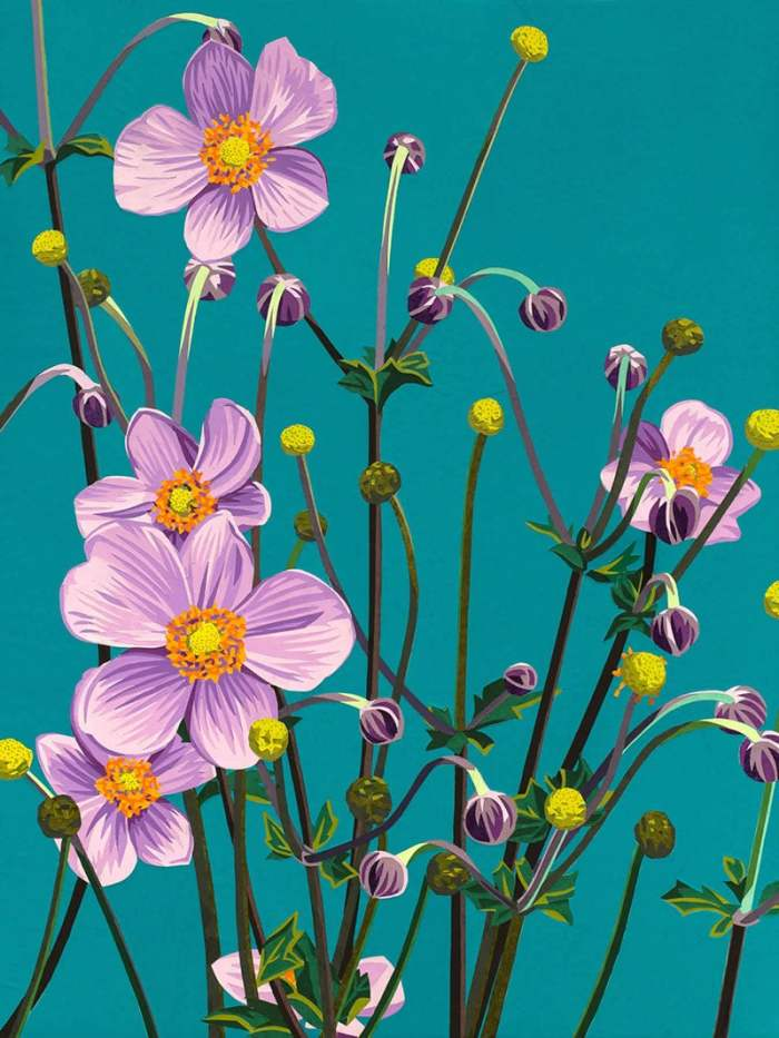 anemones by Kirk Fanelly