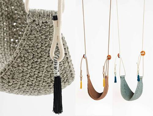 Read more about the article Handmade Crochet Swings by IOTA