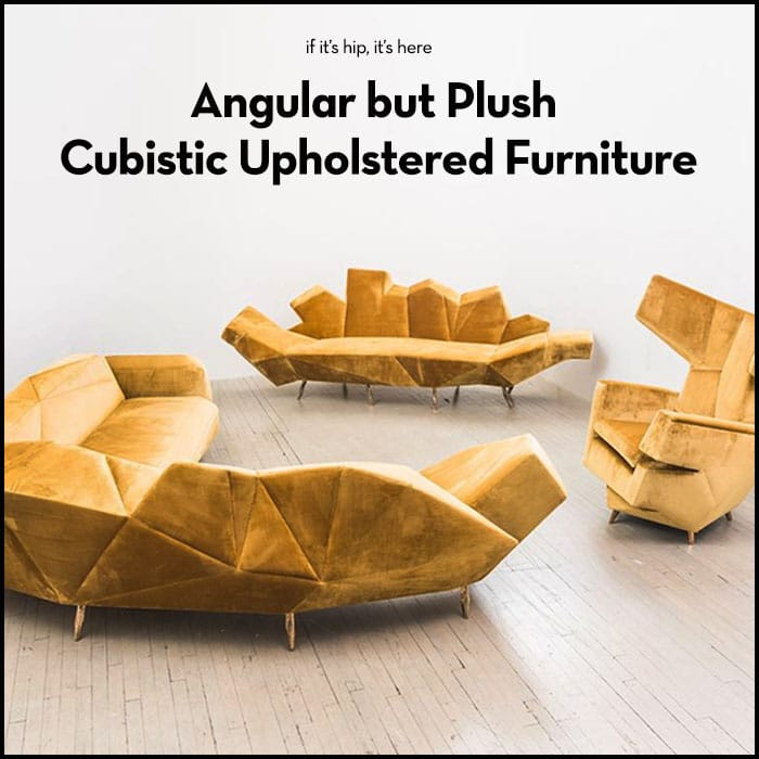 Read more about the article Cubist Upholstered Furniture by Hannes Grebin