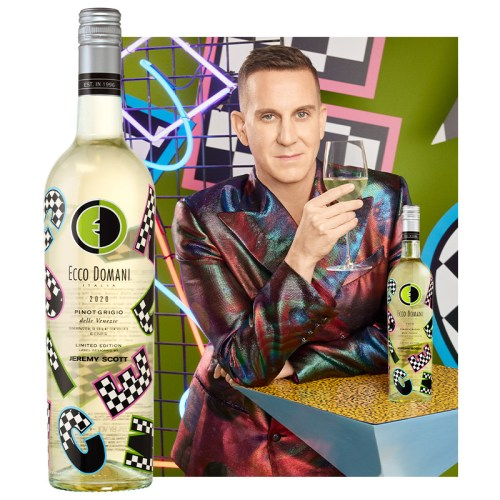 Read more about the article Jeremy Scott Designs 90s Throwback Wine Label For Ecco Domani's 25th anniversary