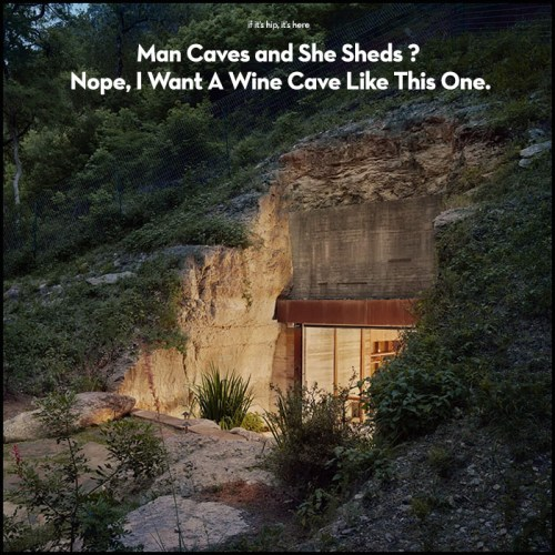 Read more about the article Forget Man Caves and She Sheds, I Want a Wine Cave!