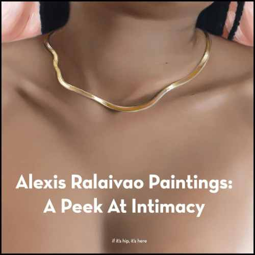 Read more about the article Alexis Ralaivao Paintings Are A Peek At Intimacy