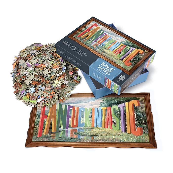 Fred Artist series puzzles