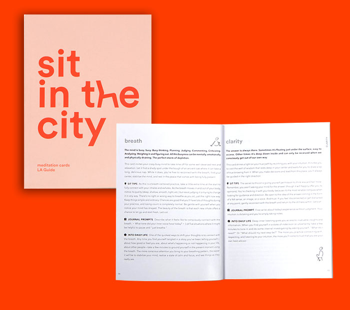 sit in the city guidebook