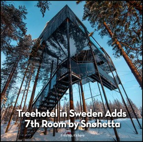 Treehotel in Sweden Adds 7th Room by Snohetta