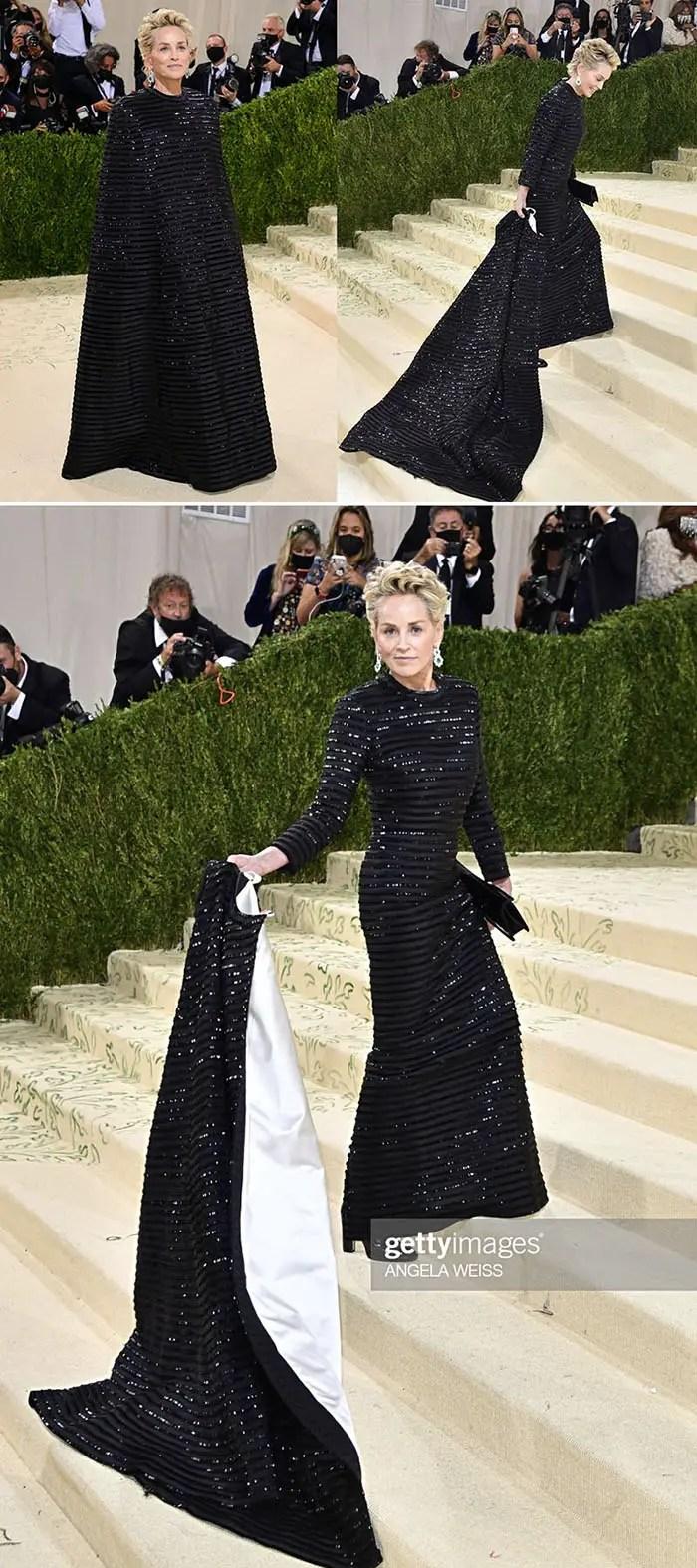 Sharon Stone at the Met Gala