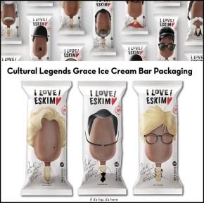 Cultural Legends Ice Cream Bar Packaging from Armenia's Backbone Branding