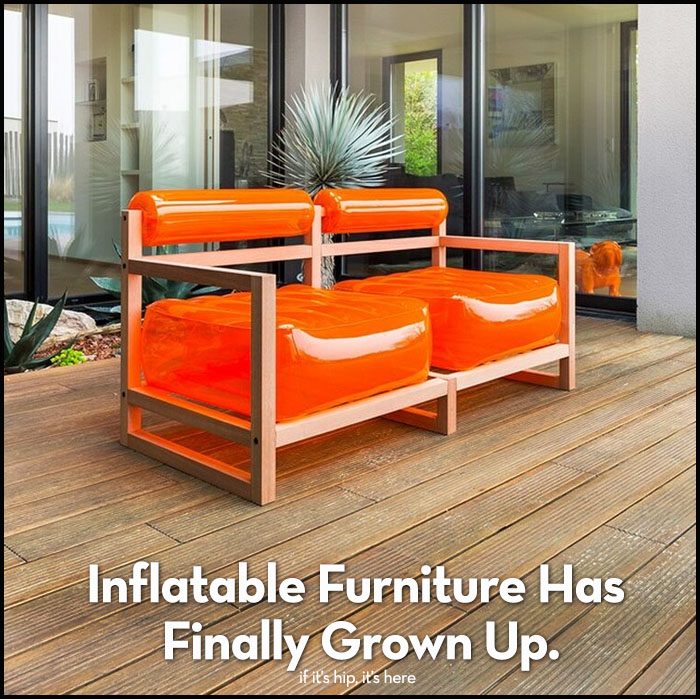 Read more about the article Inflatable Furniture Has Grown Up. And Look At It Now.