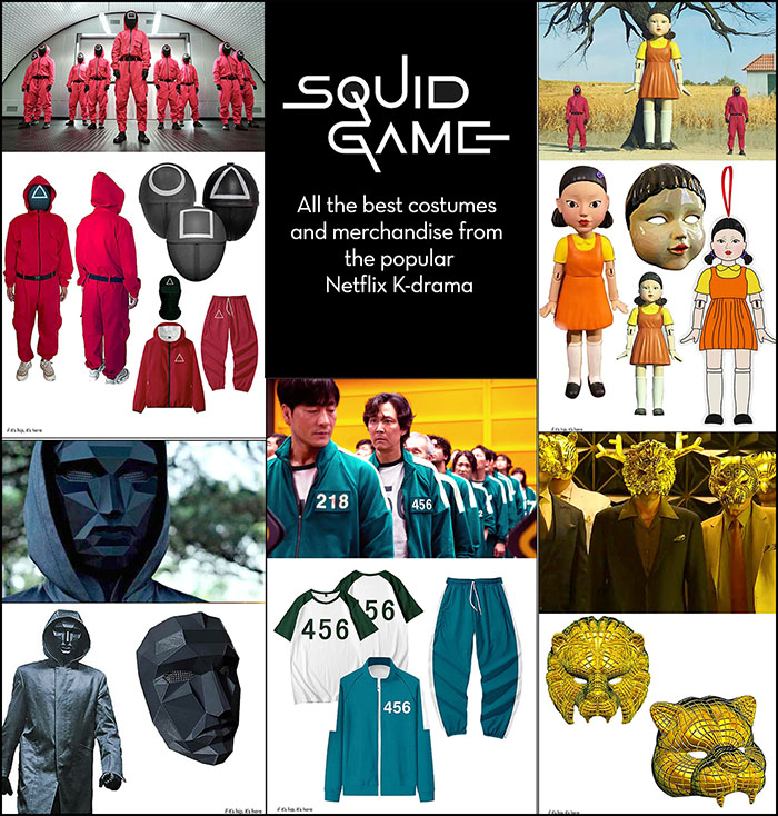 Read more about the article Squid Game Merch Is Here Faster Than You Can Say 'Green Light.'
