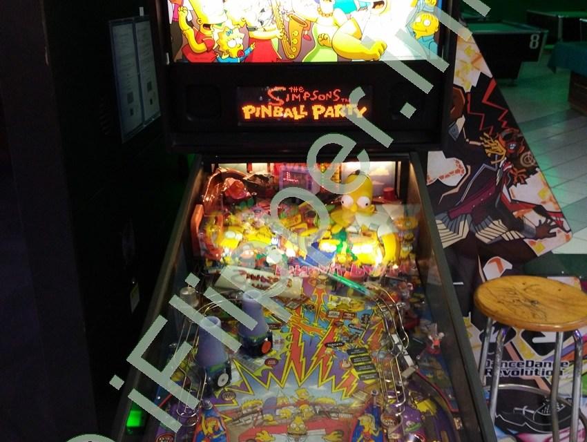 Pinball The Simpson Pinball Party