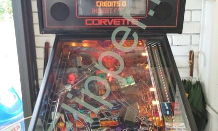 Pinball Corvette