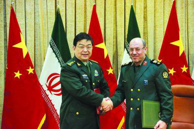 ifmat - Iran, China Sign Military Cooperation Agreement