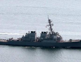 ifmat - U.S. fires warning shots as Iranian boats speed toward warship