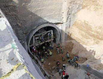 ifmat - Metro Wall Collapses in Qom; Workers Buried Under Debris