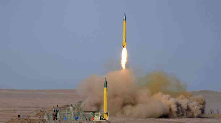 ifmat - US officialIran fires defensive missile