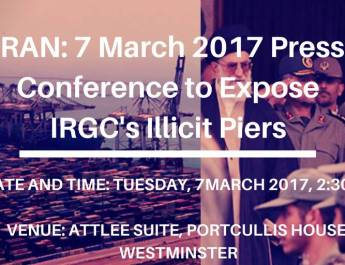 ifmat - 7 March 2017 Press Conference to Expose IRGC's Illicit Piers