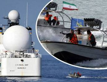 ifmat - Iran Ships Attack British vessels in Strait of Hormuz