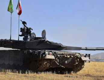 ifmat - Iran designs Russian T-90 look-alike