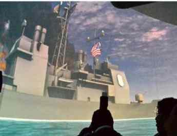 ifmat - Iran sinks US fleet in propaganda film
