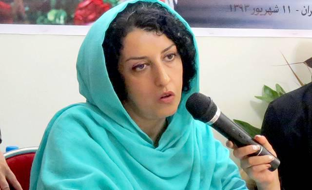 ifmat - Narges Mohammadi Political Prisoner has been offered release if she promies to be silent