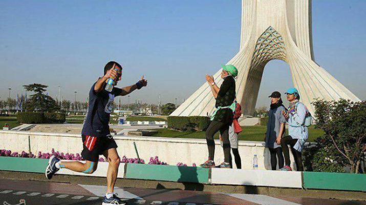 ifmat - Women humiliated in Tehran First International Marathon