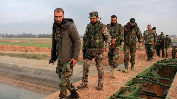 ifmat - Iran Says U.S. and Allies' Military Moves In Syria Will Fail