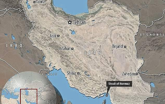 ifmat - Iran 'conducts failed missile test' just days after near-incident with US warship in Strait of Hormuz2