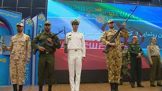 ifmat - Iran unveils home-built sniper rifles, radios