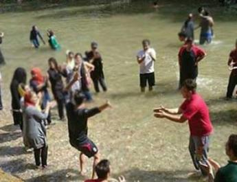 ifmat - IRGC Arrests Dozens of Children in Iran for Water Sporting