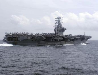 ifmat - US Navy fires warning shot near Iranian vessels